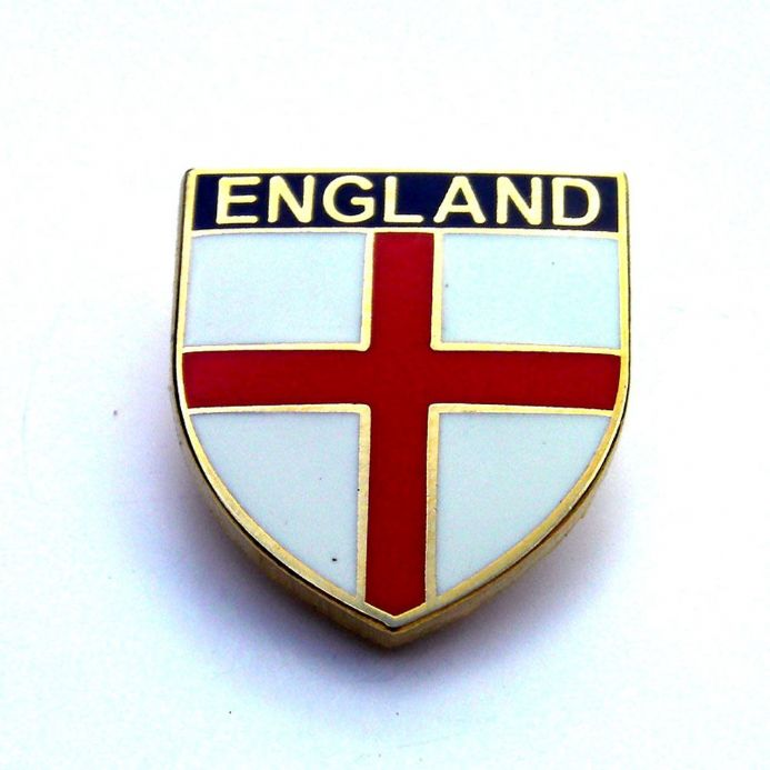England Shield Lapel Badge